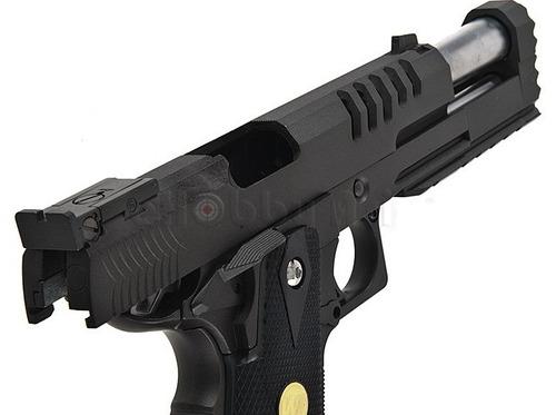 pistola co2 we hi capa 5.2 gas comprimido airsoft full metal
