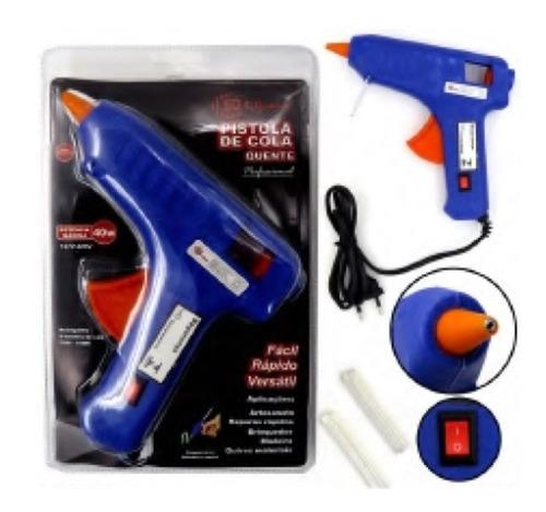pistola cola quente artesanato madeira brinquedo liga deslig