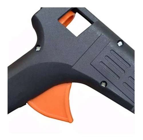pistola cola quente silicone 40w bivolt com selo inmetro