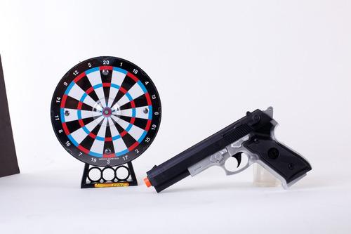 pistola con  laser tiro al blanco shootgun jem