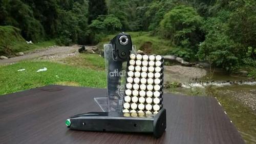pistola córdova de ráfaga new  marca carrera gt 50sti fogueo