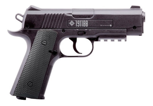 pistola crosman 1911bb co2 + 1500 municiones + 10 tanques