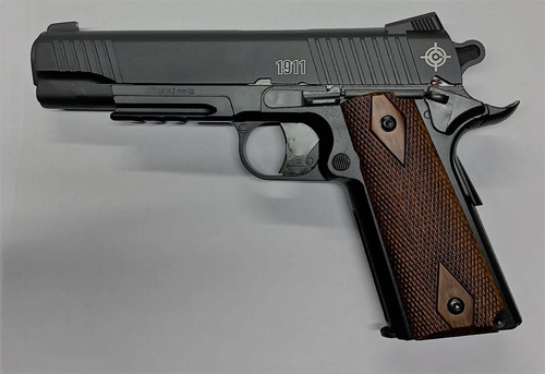 pistola crosman c1911 co2, diabolo, copitas, deportiva
