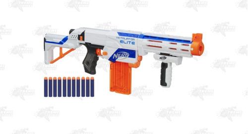 pistola dardos nerf n-strike elite retaliator xtreme c