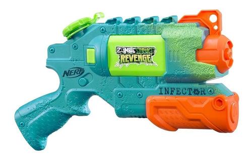 pistola de agua nerf zombie strike revenge 11 mts cadia