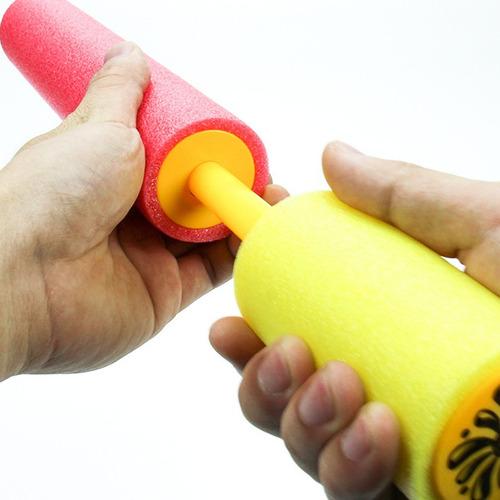 pistola de agua water pump 40cm juguete lanza agua 9mts ctas