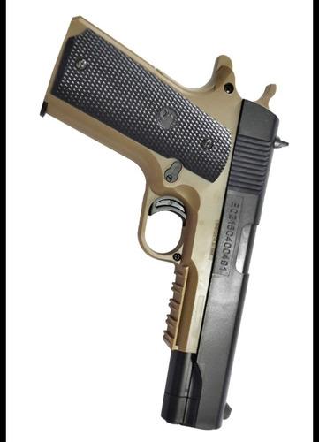 pistola de airsoft 6mm colt 1911 resorte cybergun usa