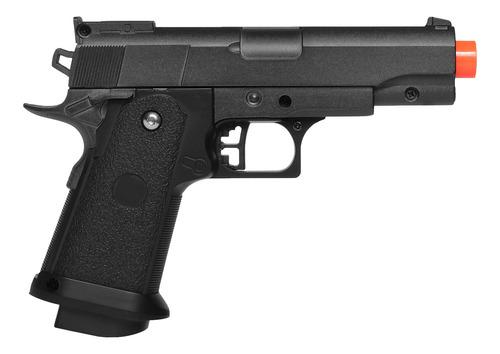 pistola de airsoft spring g10 modelo 1911 baby full metal 6mm - galaxy