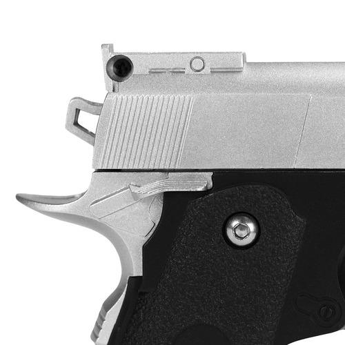 pistola de airsoft spring g10s modelo 1911 baby full metal 6