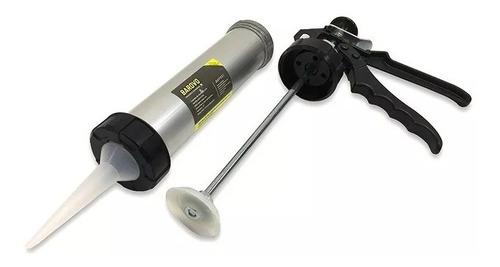 pistola de aplicacion barovo aluminio silicona 9 pulgadas