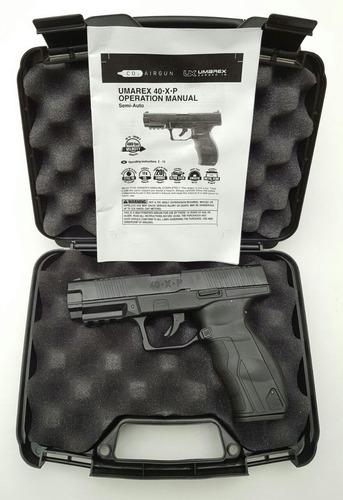 pistola de balines co2 metalica umarex glock17 blowback 400f