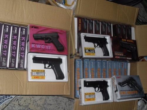 pistola de balines kwc pega duro varios modelos nuevas