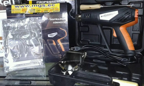 pistola de calor 1500w -110v marca gladiator
