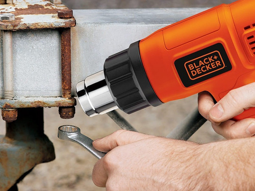 pistola de calor 1500w 2 temperaturas black&decker hg1500