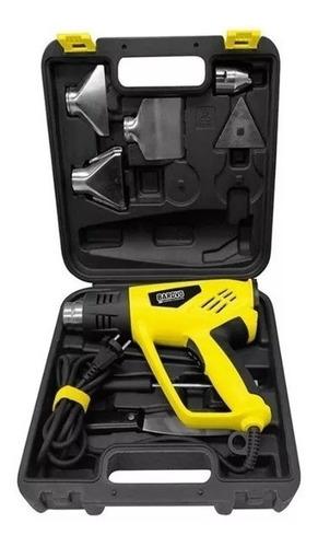 pistola de calor 2000w c maletin accesorios