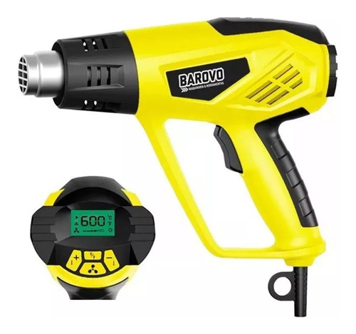 pistola de calor aire caliente 600°c 2000w regulable