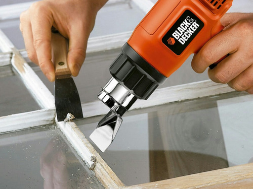 pistola de calor black & decker 1500w