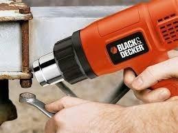 pistola de calor con doble temperatura 1500w black & decker