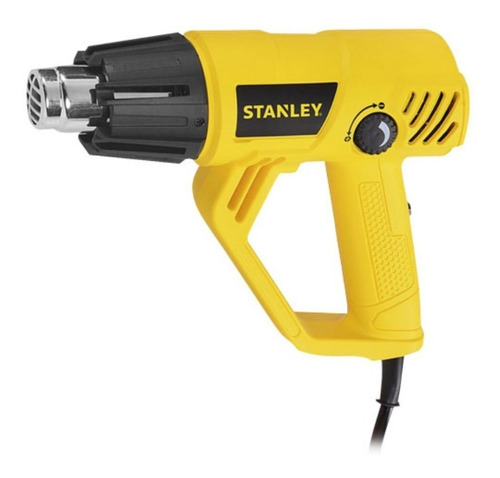 pistola de calor + estuche + boquillas stanley stxh200
