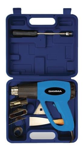 pistola de calor gamma 2000w g1935kar + maletín y accesorios