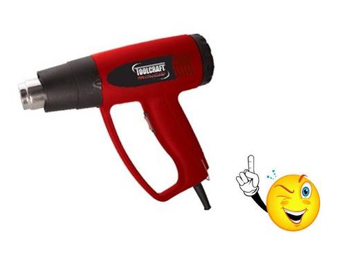 pistola de calor marca toolcraft pot.1500 w