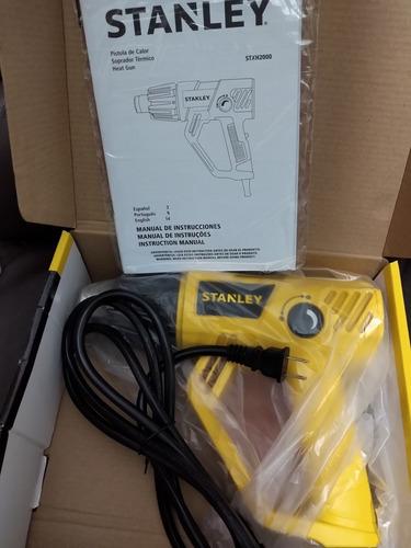 pistola de calor regulable marca stanley. nueva empacada.