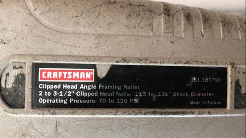 pistola de clavo craftsman poco uso