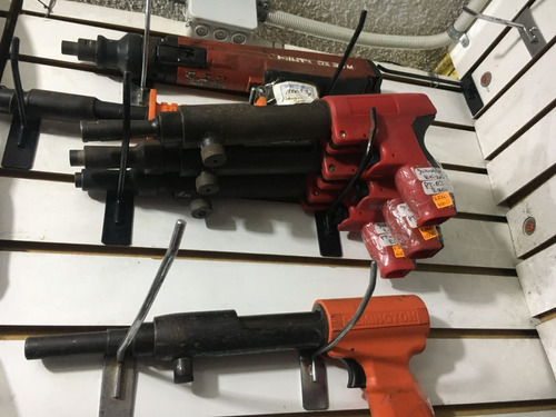 pistola de clavo ramset y hilty