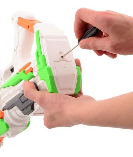 pistola de dardos tipo nerf tack pro pistola attack educando