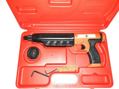 pistola de fijación con silenciador marca wall quality tools