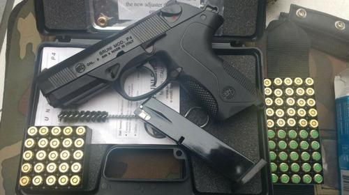 pistola de fogueo bruni mod p4 - no letal uso civil