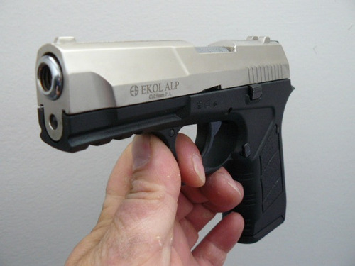 pistola de fogueo ekol alp - cz