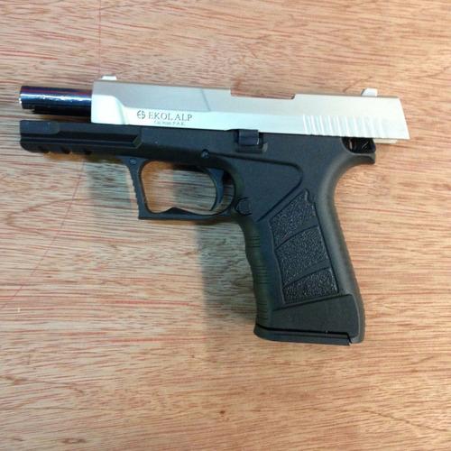 pistola de fogueo ekol alp - cz - no letal uso civil-defensa