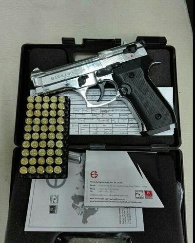 pistola de fogueo ekol magnum new 50 salvas envio gratis
