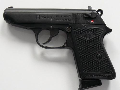 pistola de fogueo no letal bruni new police