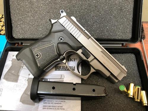 pistola de fogueo no letal zoraki 914 titan + tienda lima