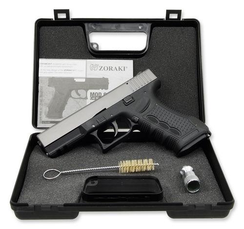 pistola de fogueo zoraki 917 no letal uso civil defensa glok