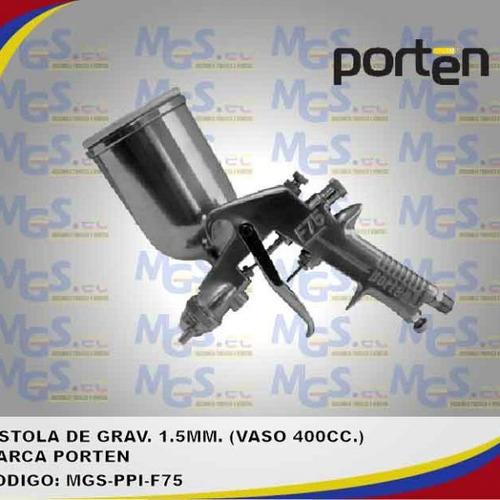 pistola de gravedad 1.5mm 400cc porten