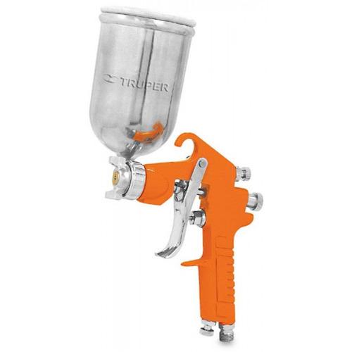 Pistola de gravedad para pintar vaso de 400 cc truper - Pistola para pintar paredes precios ...
