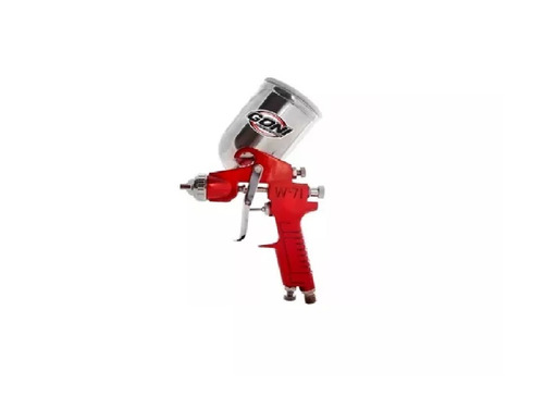 pistola de gravedad; vaso aluminio de 400cc goni gon352
