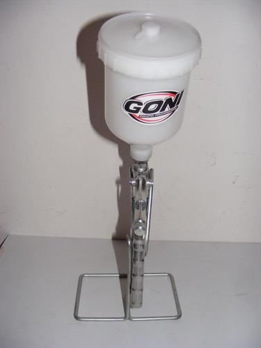 pistola de gravedad vaso de de 600 ml. goni mod. 70