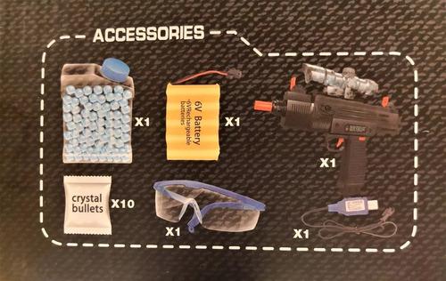 Pistola De Hidrogel Regimental Police Electrica!!