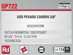 pistola de impacto neumatica 3/8 urrea oferta up722