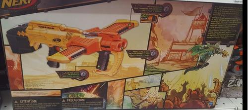 pistola de juguete de 24 dardos nerf de hasbro double dealer