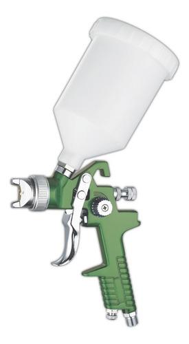 pistola de pintar gravedad hvlp soplete prof c/regulador