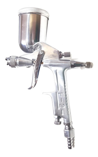 pistola de pintar retoque bta air 200cc metal verashop