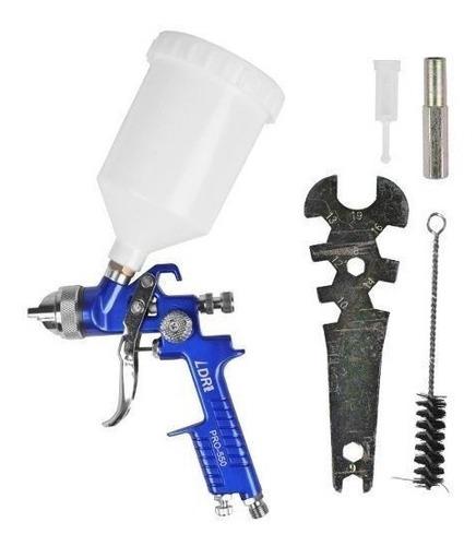 pistola de pintura automotiva 600 ml hvlp pro 550 pdr