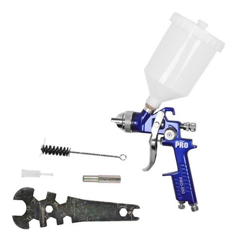 pistola de pintura automotiva hvlp pro-550 1.7 600 ml