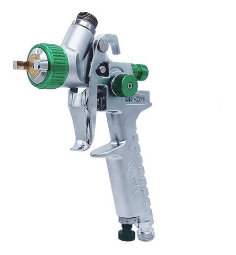 pistola de pintura gravidade wimpel hvlp bico 1.0 mp-201
