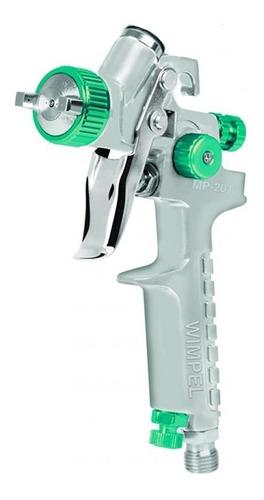 pistola de pintura hvlp bico 1.0 ar direto mp-201 - wimpel